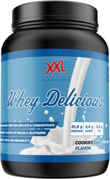XXL Nutrition Whey Delicious - 1000g
