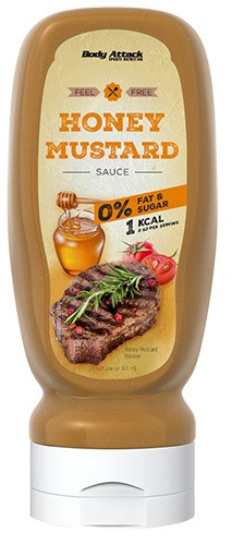 Body Attack Honey Mustard Sauce - 320ml