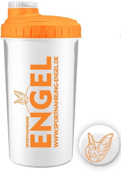 Weiß/Orange - Sportnahrung-Engel Shaker 2.0