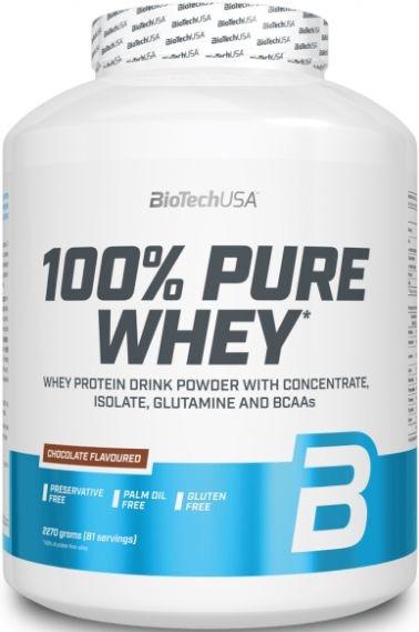 BioTechUSA 100% Pure Whey 2270g
