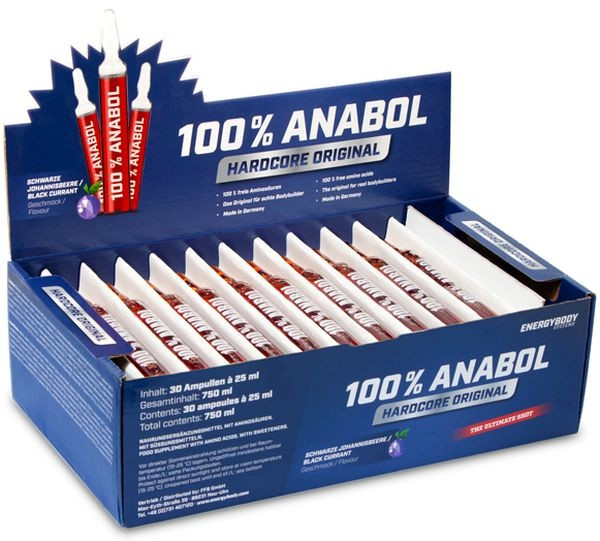 Energybody 100% Anabol Amino - 30 Ampullen