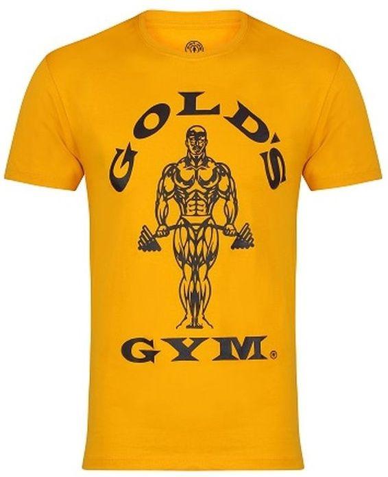 Golds Gym Muscle Joe T-Shirt - gold