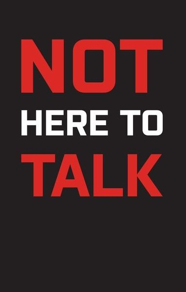 XXL Nutrition Gym Handtuch - Not Here To Talk