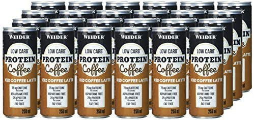 Weider Low Carb Protein Coffee - 24 x 250ml