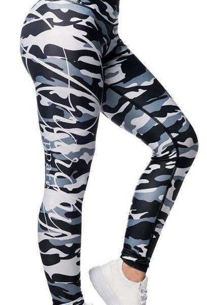 Anarchy Apparel Commando Leggings - gray