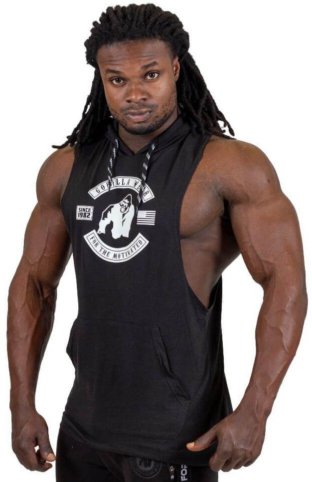 Gorilla Wear Lawrence Hooded Tank Top - Schwarz