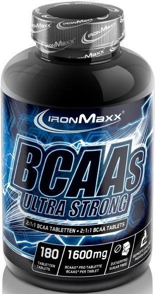 Ironmaxx BCAAs Ultra Strong - 180 Tabletten