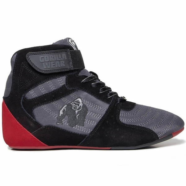 Gorilla Wear Perry High Tops Pro - Grey/Black/Red