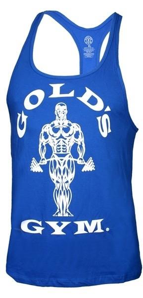 Golds Gym Classic Stringer Tank Top - royal