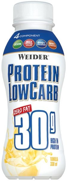 Weider Protein Low Carb* Shake - 330 ml