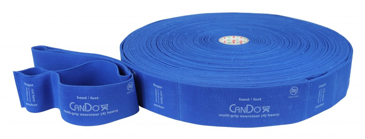 "CanDo Multi-Grip Fitnessband ""Exerciser Rolle"""