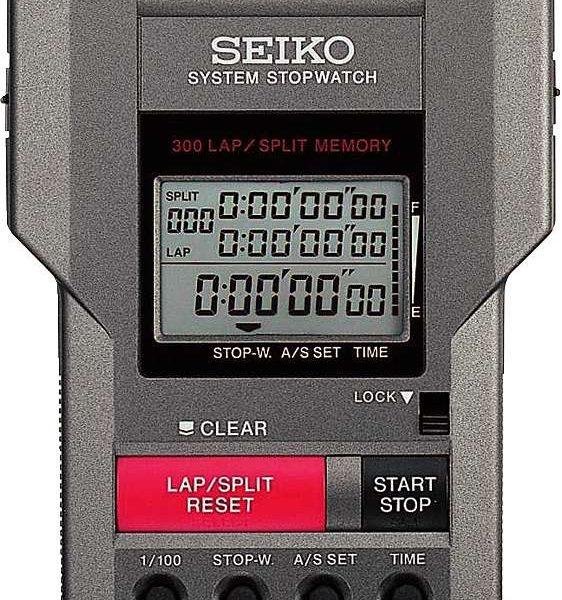 """Seiko Digital-Stoppuhr """"S149"""" - Leichtathletik - Seiko"""